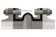 Embedded vacuum rings